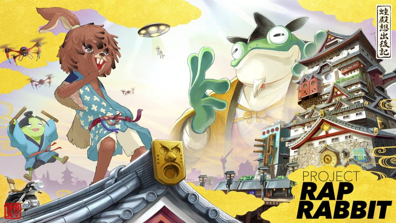 Illustration for article titled Parappa And Ouendan Creators Join Forces For Project Rap Rabbit