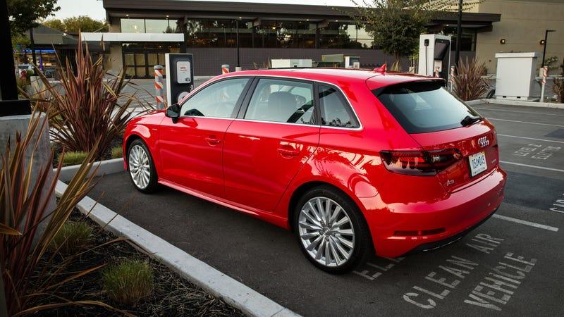The 2016 Audi A3 Sportback E-Tron Is A Fun Hybrid Oddball, But ...