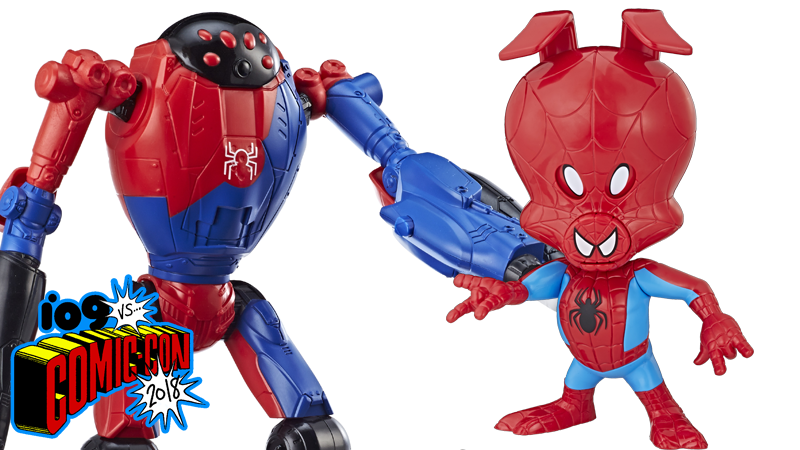 SP//dr and Spider-Ham are here, in toy form!