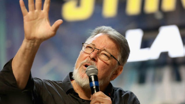 Jonathan Frakes would like to ask you a few questions