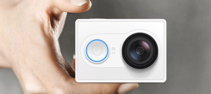 Illustration for article titled Xiaomi también tiene una cámara tipo GoPro, y solo cuesta 64 dólares