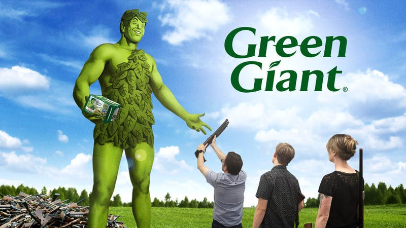 Illustration for article titled Green Giant Offering Program Where Gun Owners Can Trade In Firearms For Green Beans