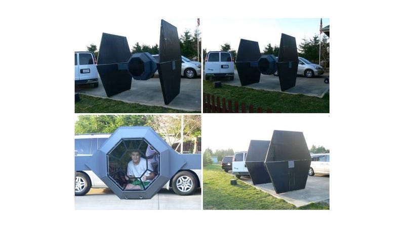 Illustration for article titled There's a Giant Tie Fighter for Sale on Craigslist