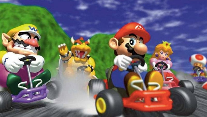 Illustration for article titled The Nintendo 64 Turned 20 Today. These Are Its Greatest Driving Games