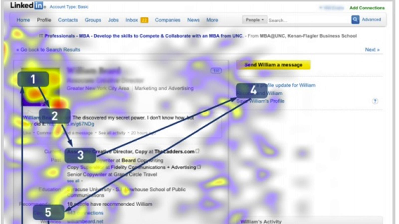 resume Resume Eye Tracking how recruiters really look at your linkedin profile and online resume