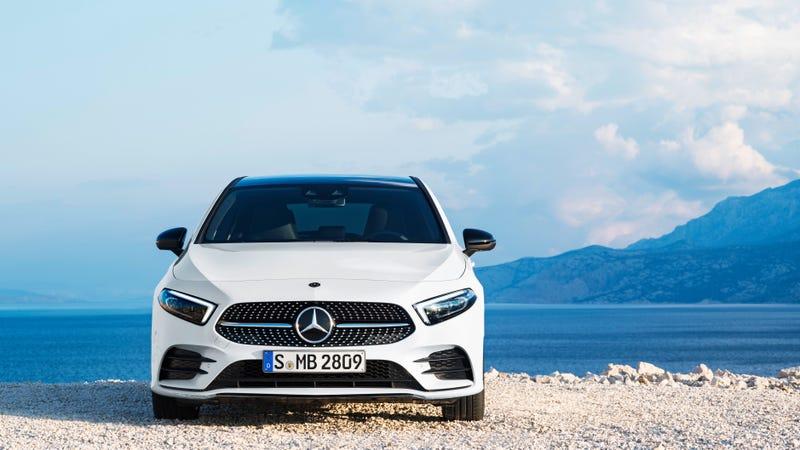 Pictured: A standard Mercedes-Benz A-Class