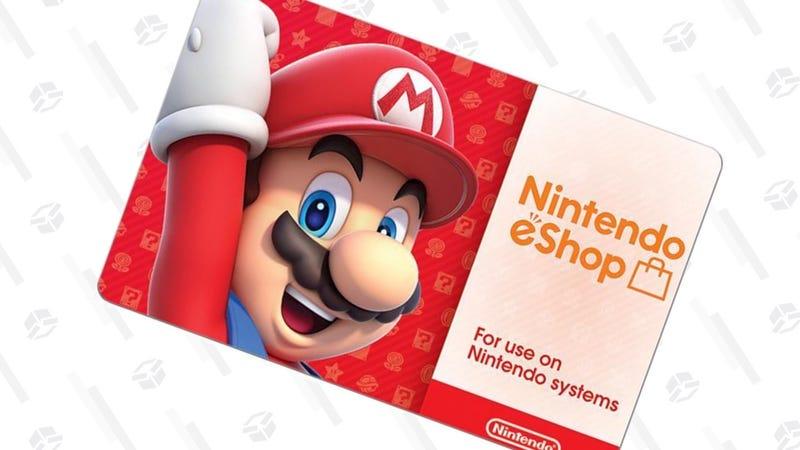 $50 Nintendo eShop Gift Card + $10 Bonus Card   $50   Newegg