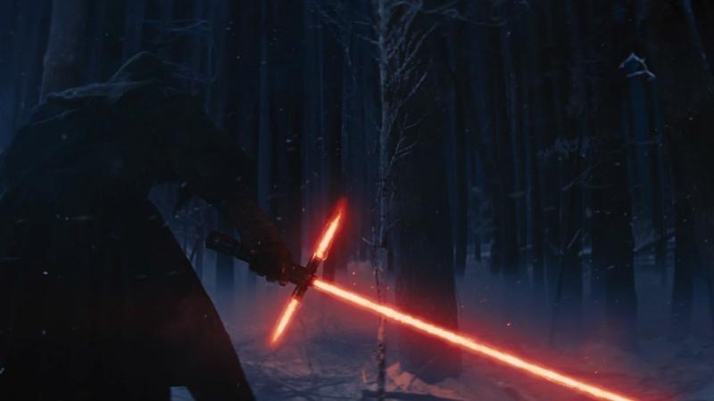 Kylo Ren could've used lightsaber craftsman help, let's be honest.