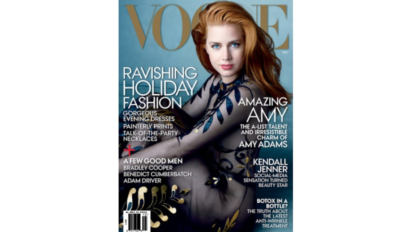 Amy Adams Is Naked-Ish On Decembers Vogue Cover-3048