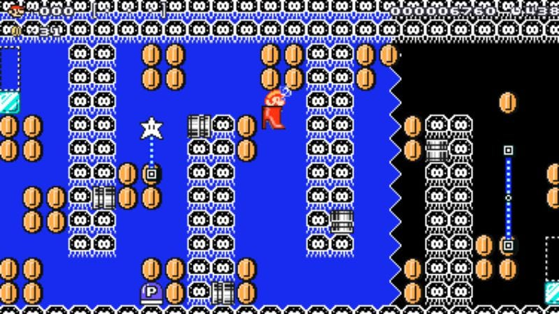 Screenshot: Super Mario Maker For Nintendo 3DS/Nintendo