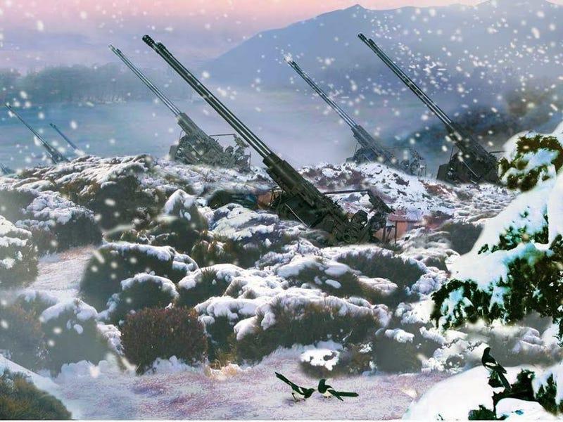 Illustration for article titled Get Your Official North Korean Desktop Wallpaper