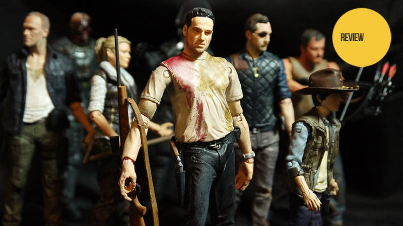 Illustration for article titled Hunting Down The Fourth Season Of The Walking Dead Action Figures