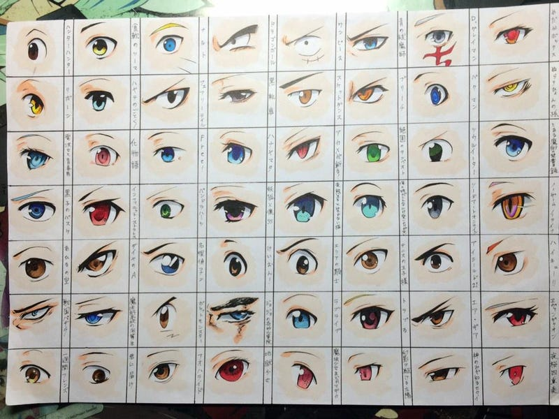 Illustration for article titled Can You Identify These Anime Eyes? Go On and Try.