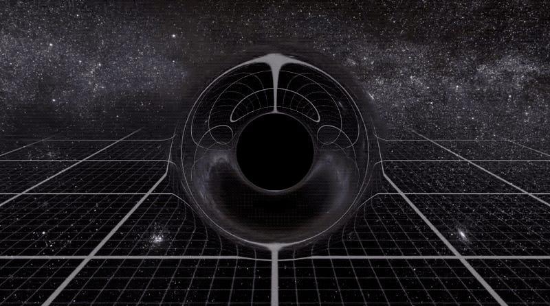 Esta comparación del tamaño de los agujeros negros te hará reconsiderar la palabra supermasivo