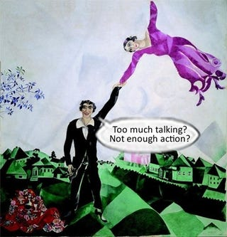 Illustration for article titled Talk Amongst Yourselves