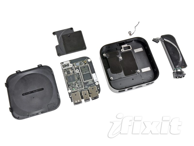 Illustration for article titled Apple TV's Guts Contain 8 GB Of Flash Storage