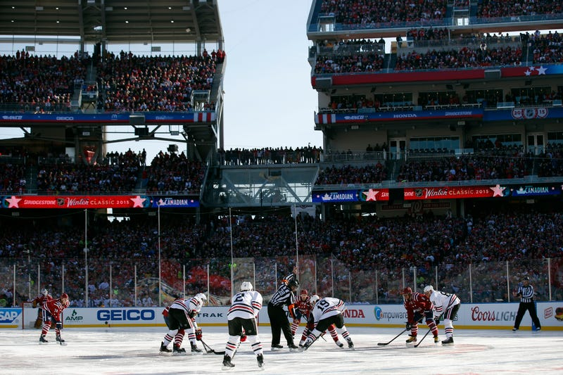 Illustration for article titled The Winter Classic Was Really Great Even If Not Many People Watched