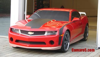 Illustration for article titled 2010 Chevy Camaro Gets Kitted Up?
