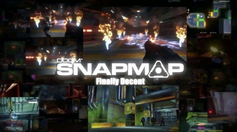 Illustration for article titled Doom's SnapMap is a Hell of a Lot Better