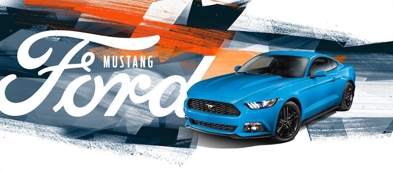 Illustration for article titled Ford's Mustang Banners