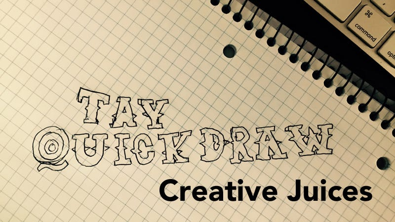 Illustration for article titled TAY Sunday QuickDraw: Creative Juices