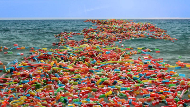 Illustration for article titled Environmentalists Warn Swedish Fish Population Being Decimated By Great Pacific Sour Patch