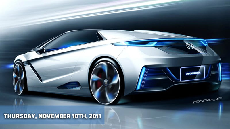 Illustration for article titled 2013 Cadillac XTS, Honda's got the Small Sports EV Beat, Jaguar XJ gets sporty and speedy