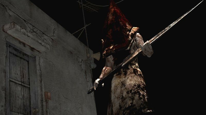 Illustration for article titled Upcoming Metal Gear Survive Event Summons Pyramid Head