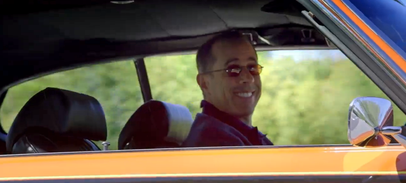 Illustration for article titled Jerry Seinfeld's Fantastic 'Comedians In Cars' Nominated For Emmy