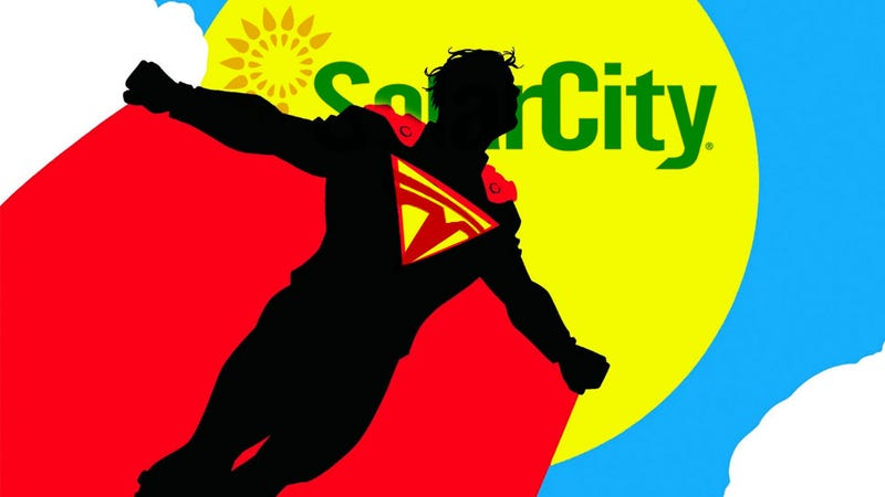 Illustration for article titled Elon Musk One Step Closer To Owning The Sun As Tesla Buys SolarCity For $2.6 Billion