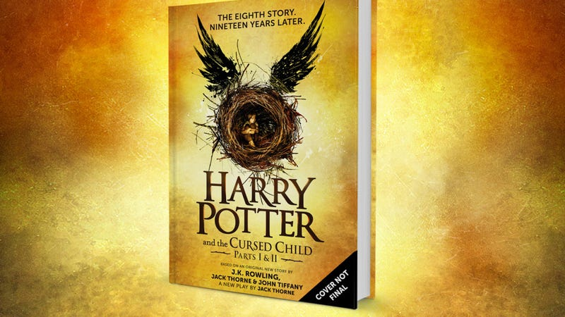 Illustration for article titled The Harry Potter Play Will Become the Eighth Harry Potter Book in July