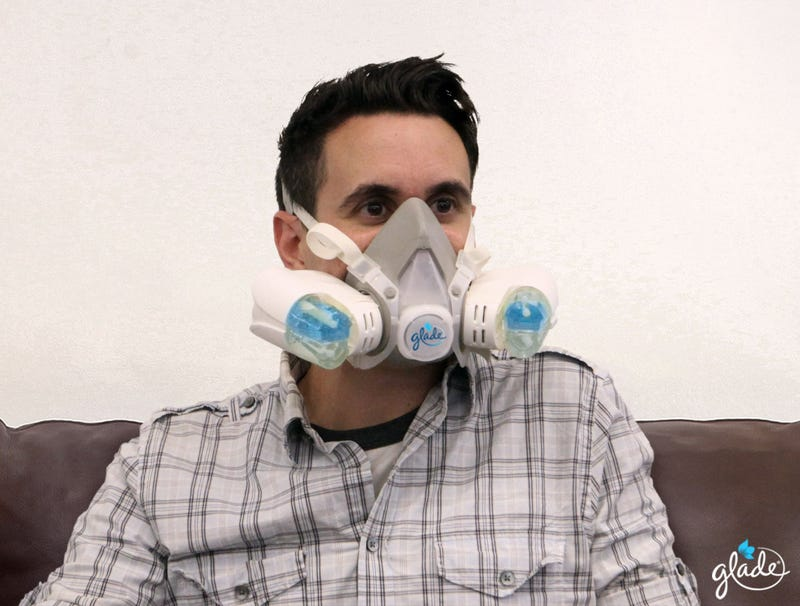 Illustration for article titled Glade Introduces New Air Freshener Mask