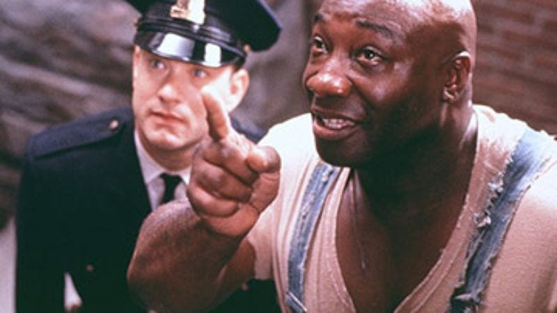inventory movies featuring magical black men the green mile 1999