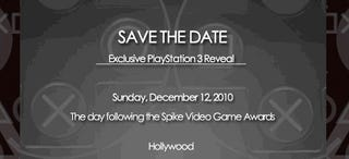 Illustration for article titled Sony Has 'Exclusive PlayStation 3 Reveal' The Day After Spike VGAs