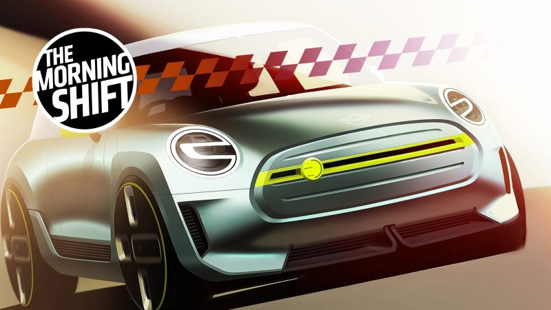 The Mini electric concept from last year. Photo: Mini