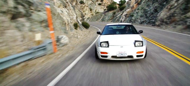 Illustration for article titled Is The V8-Swapped Nissan 240SX The Best Car In The World?