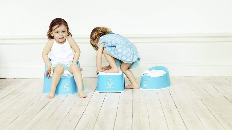 BabyBjorn Potty Chair, $30BabyBjorn Step Stool, $20
