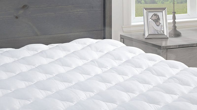 Pressure Relief Mattress Pad with Fitted Skirt, $60-$78