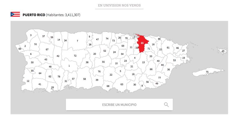 Illustration for article titled Este buscador ofrece información actualizada de cada municipio de Puerto Rico, que sigue sin luz en muchas zonas