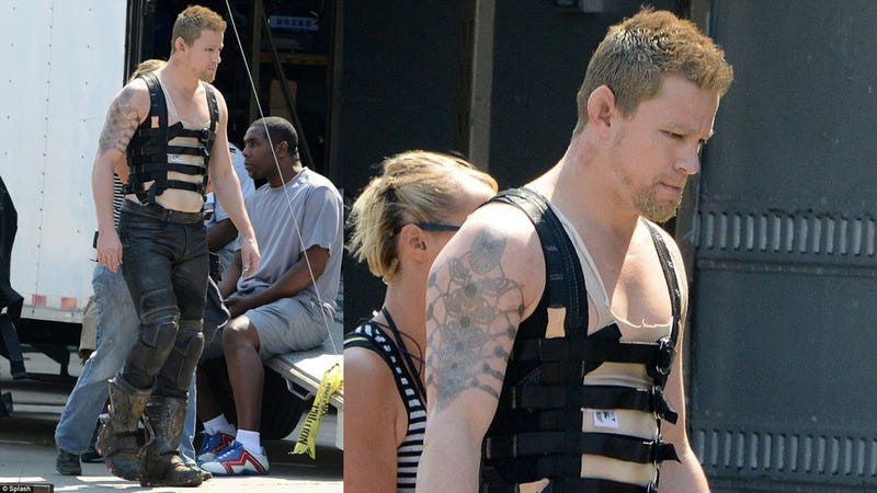Illustration for article titled Channing Tatum's Bizarre New Look in the Wachowskis' Jupiter Ascending
