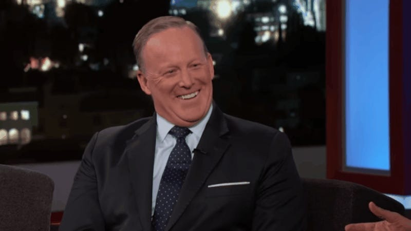 photo image Watch Sean Spicer Continue to Make Excuses For the President's Shitty Tweets
