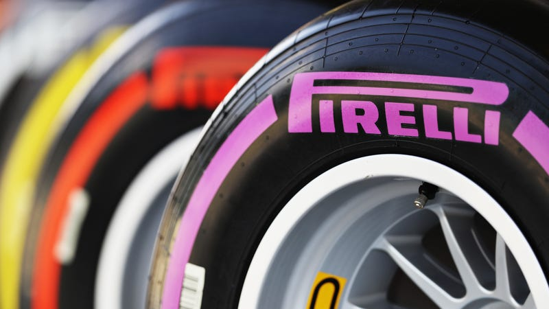 Pirelli tire compounds in 2016, which objectively show that F1 should've picked purple as one of its three race colors from 2019 on.