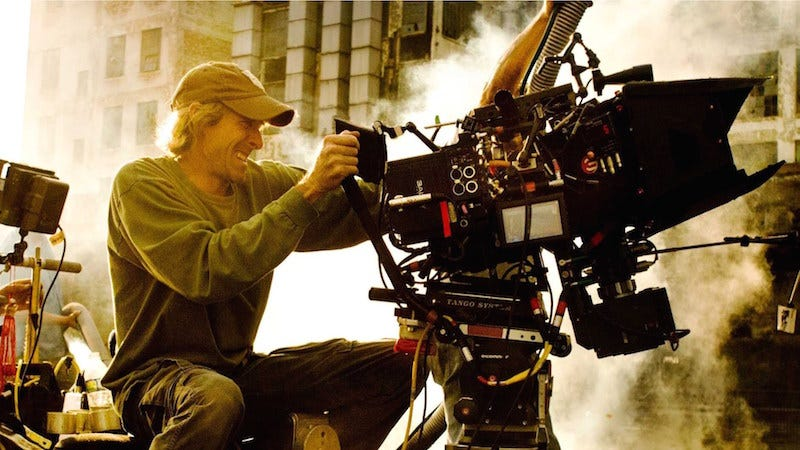 Illustration for article titled Michael Bay's Terrible Filmmaking Style Used for Good Cause