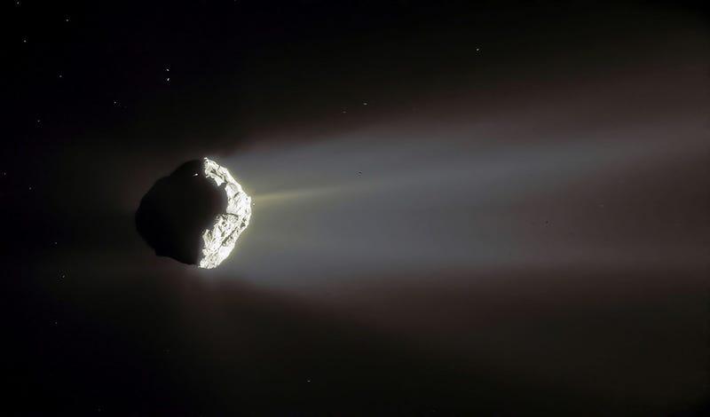 La ciencia por fin ha entendido cómo es posible que los cometas produzcan oxígeno si no albergan vida