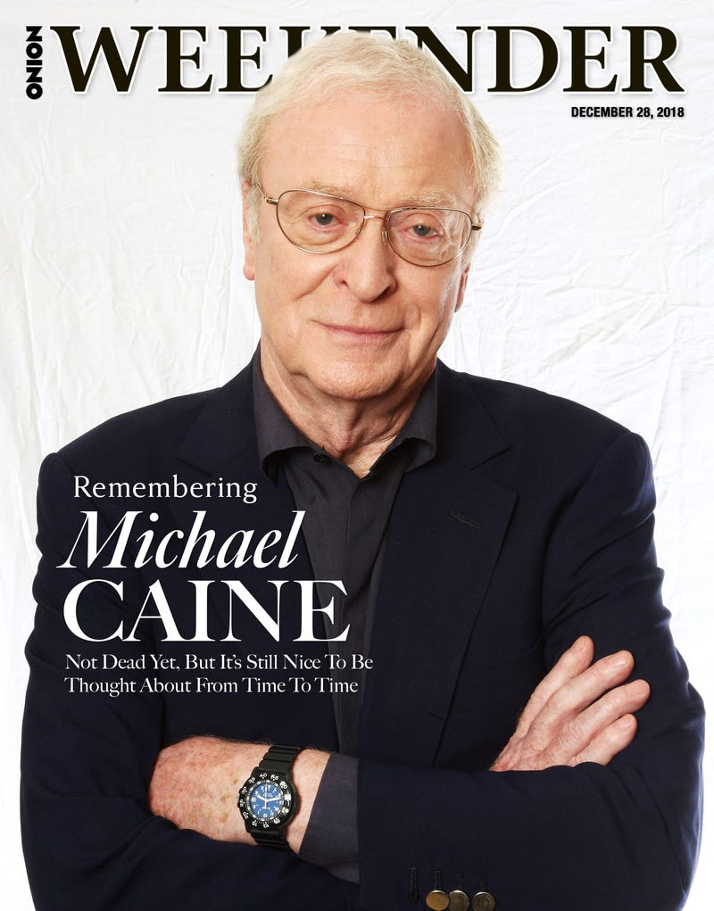 Illustration for article titled Remembering Michael Caine: Not Dead Yet, But It's Still Nice To Be Thought About From Time To Time