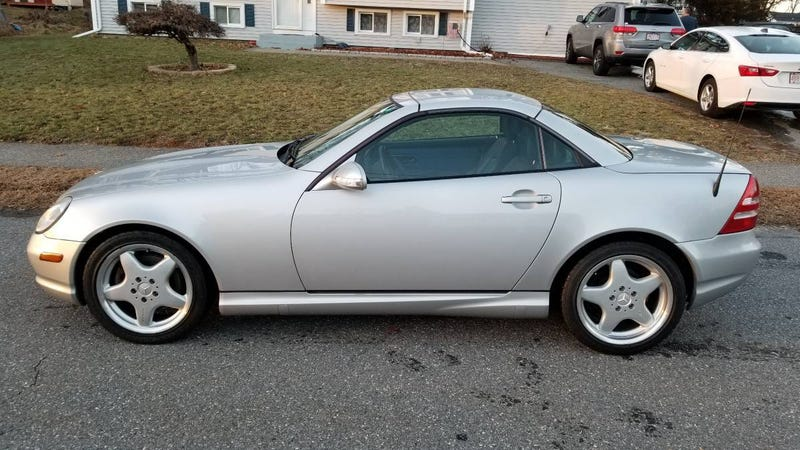 At 8 200 Could This 2001 Mercedes Slk320 Be A Hardtop Convertible That S Hard To Beat