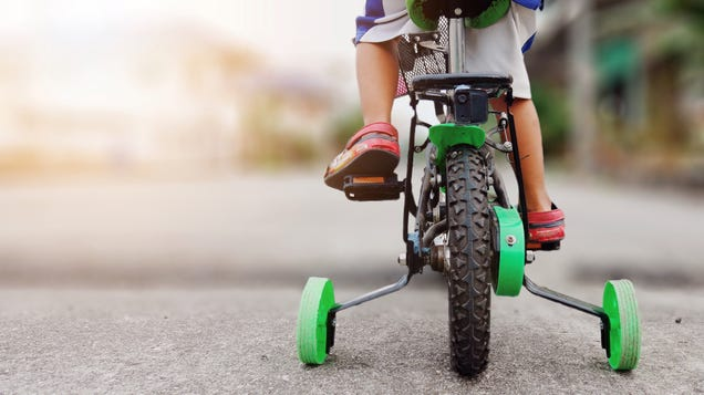 Let Your Kids Bike in Place While They Zoom