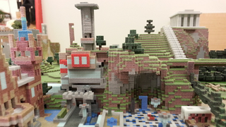 Illustration for article titled Minecraft Worlds, 3D-Printed. They're Amazing.