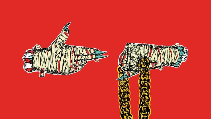 Illustration for article titled Marvel parodies Run The Jewels logo on two comic book covers