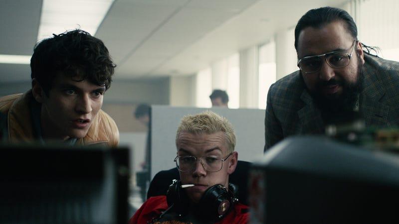 A scene from Netflix's Black Mirror: Bandersnatch.